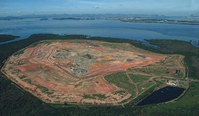 ATERRO NOVO GRAMACHO/RJ Projeto executivo da ampliação e encerramento do aterro sanitário