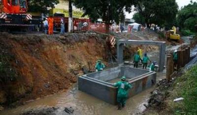 Córrego Açucara - Osasco/SP Projeto executivo de canalização do córrego