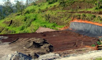 Aperam - Projeto do pátio de disposição de resíduos - fase 2 Timóteo/MG