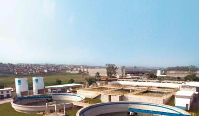 FURP - GUARULHOS/SP Gerenciamento das obras de construção da estação de tratamento de esgotos